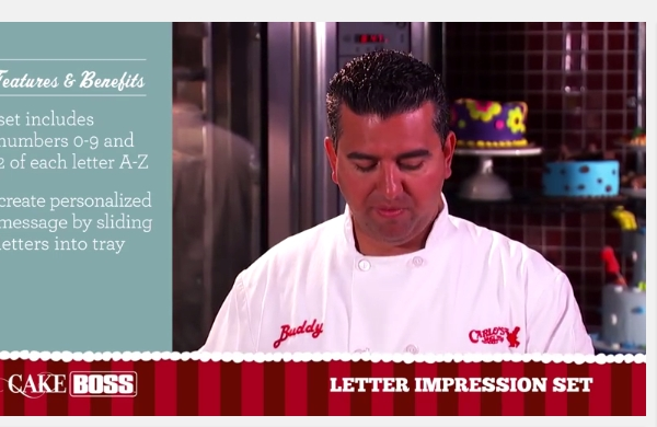 How To Write Perfect Letters On Cake - Cake Decorating Supplies - Cake Boss Baking