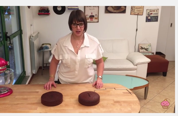 Cherry Blossom Decorated Chocolate Cake - Cheeky Crumbs - YouTube