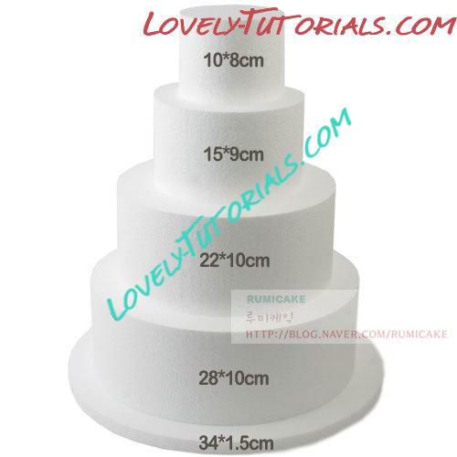 Как увеличить диаметр тортов