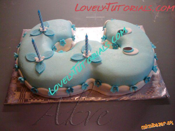 How to Make a No3 shaped birthday cake how to make