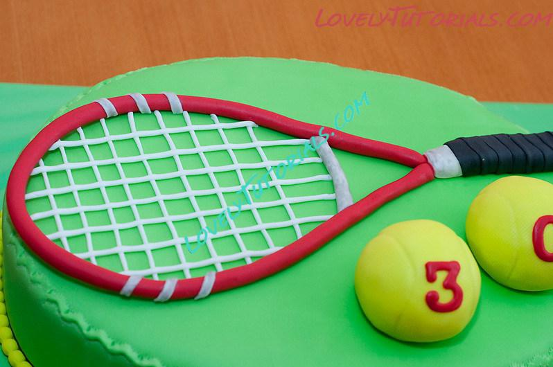 Gumpaste Fondant Polymer Clay Tennis Racket Making Tutorial How