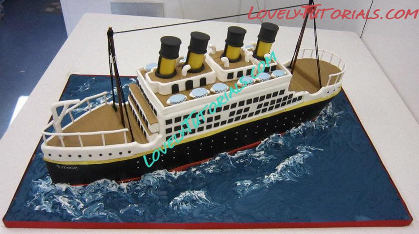 Building The Titanic Cake How To Make