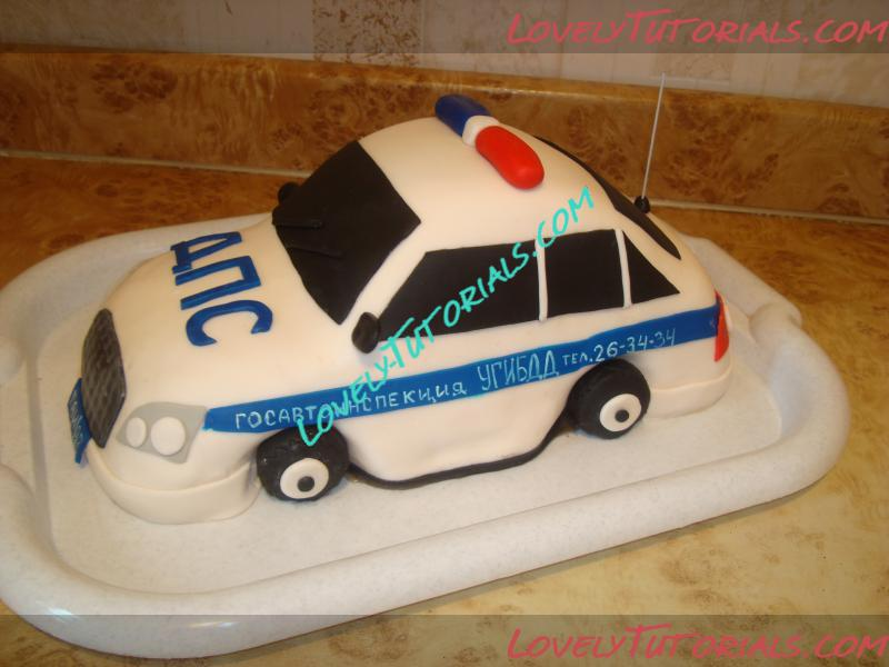 Police Car Cake Tutorial How To Make