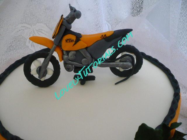 how to make fondant gumpaste motorcycle how