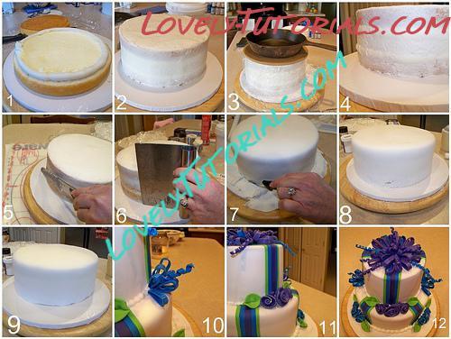 Торт из мастики рецепт пошагово с