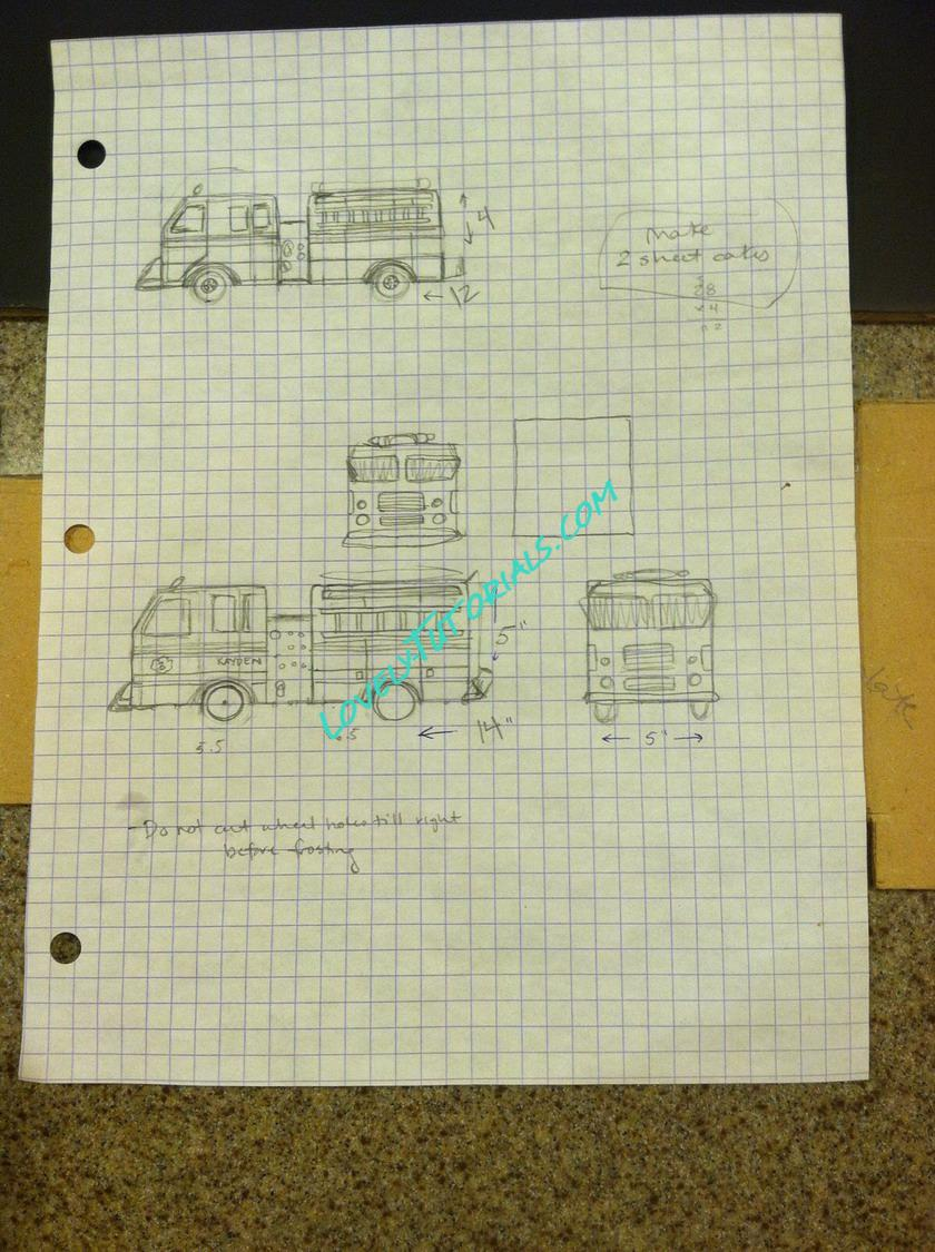 How To Carve 3d Fire Truck Make Schematic Our Site Has Collected Lessons Master Classes On Various Websites That Are Dedicated Cakes Decoration If You The Author Of Lesson And Want