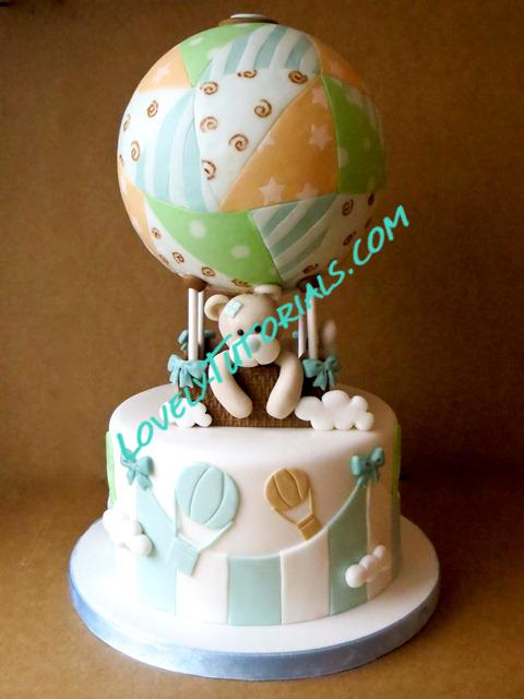 Make Baby Shower Cake Topper