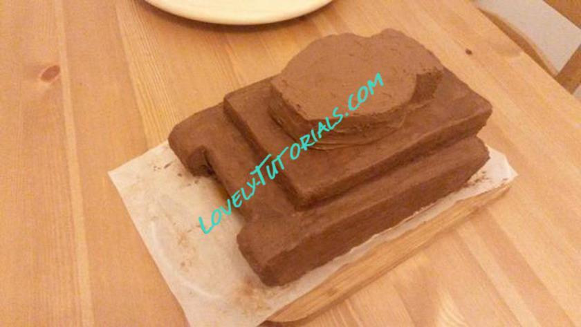 Торт танк своими руками рецепт с фото без мастики 31