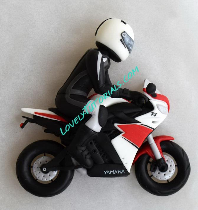 how to make fondant gumpaste motorcycle how to make