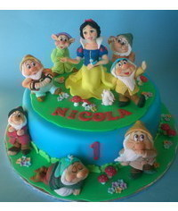 photo  Snow White and the Seven Dwarfs figures making tutorials