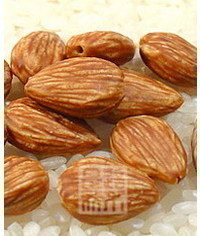photo  how to make gumpaste almonds