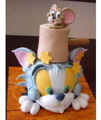 photo  Tom and Jerry figure sculpting tutorials