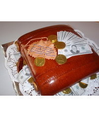 photo  money suitcase cake