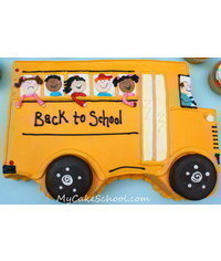 photo Back to School Cake