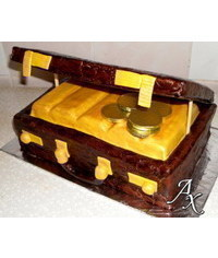 photo  suitcase cake tutorial
