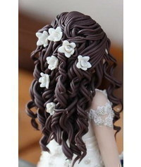 photo How to Make a Doll Wig / Doll Hair?