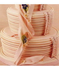 photo  Simply pretty in pink cake
