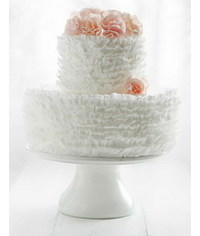 photo  How to decorate cake with Ruffles