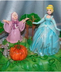 photo  Gumpaste (fondant) Cinderella sculpting tutorial