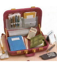 photo  gumpaste briefcase how to