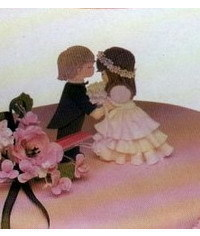 photo wedding figurines topper tutorial
