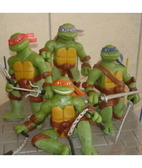 photo ниндзя -eenage Mutant Ninja Turtles, TMNT figure making tutorials