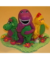 photo  Barney & Friends figure making tutorials