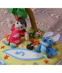 photo  Gumpaste (fondant) Lilo and Stitch tutorials