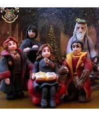 photo Gumpaste (fondant, polymer clay) Haryy Potter's characters figures making tutorials