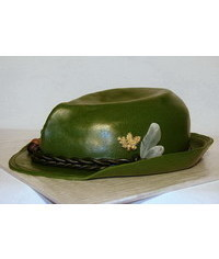 photo  Carved Hat cake tutorial