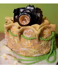 photo  3D bag cake tutorial