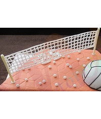 photo volleyball net making tutorial