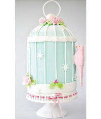 photo Bird cage cake step by step and many tipes of cages