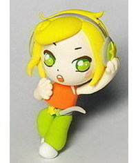 photo  how to sculpt girl with headphones