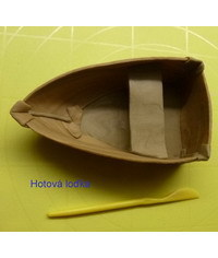 photo How to make a gumpaste (fondant) boat