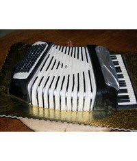 photo Carved Bayan (accordion) cake tutorial