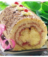 photo MK-cake roll with tender heart