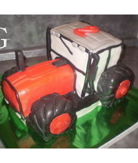 photo Tractor cake tutorial