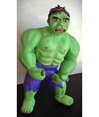 photo Hulk (comics) sculpting tutorial