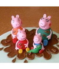 photo  Peppa Pig characters making tutorials