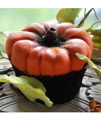 photo Pumpkin cupcakes step by step
