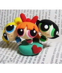 photo Powerpuff Girls figurines making tutorials