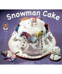 photo  Snowman cake tutorial