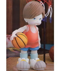 photo  Basketball player figure sculpting tut