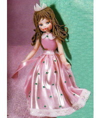 photo How to sculpt gumpaste (fondant, polymer clay)princess figurine