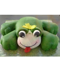 photo Frog cake tutorial