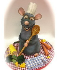 photo Ratatouille character step by step