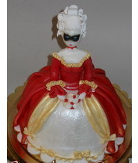 photo Doll cake tutorial