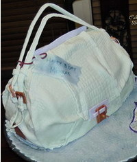photo Kooba Valerie Handbag Cake Tutorial