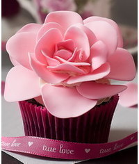 photo Open rose cupcakes tutorial